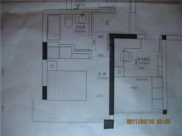 客房平面设计图展示