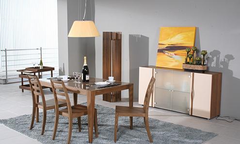 > [转让]曲美家具,4人实木餐桌,原价1800