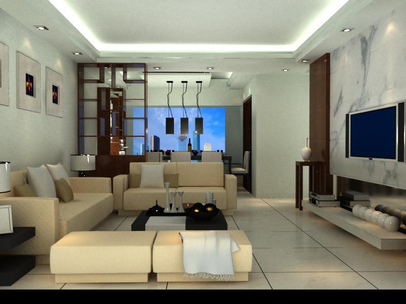 30平方米的面积,含客厅,餐厅,电视背景墙,吊顶,请问该怎样装修?