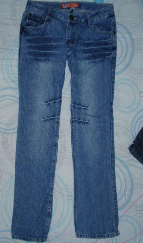 牛仔长裤26码,裤脚有磨损,不介意的送 -闲置转让,牛仔衣牛仔裤衬