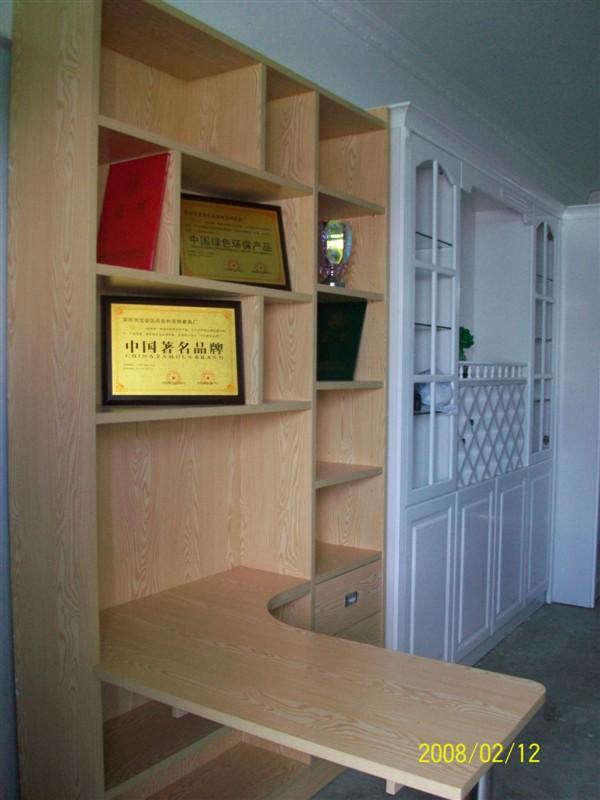 专业生产定制整体衣柜 书柜 电视柜 鞋柜 酒柜 玄关柜 装饰柜等全套家高清图片