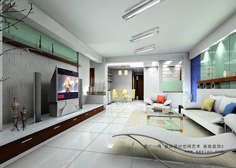 的房子客厅是长方形的,阳台在一个边,朝北,通过怎么装修能增大