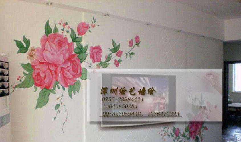 深圳墙绘公司 深圳手绘墙 深圳墙体彩绘 深圳绘艺墙绘