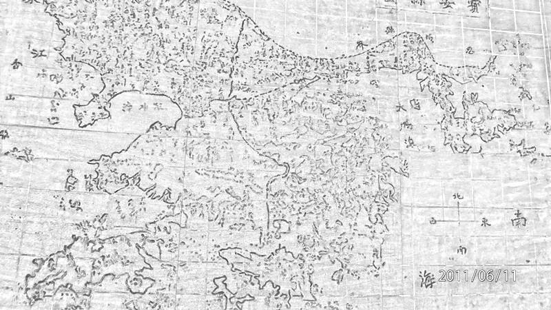 深圳很早很早之前的地图,那时候还只是叫宝安县