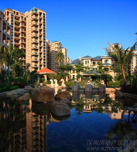 这也是我喜欢的地中海风格建筑,背靠着189万平方米的公园,怎么图片