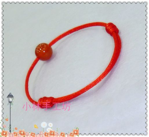 红绳手链 转运珠