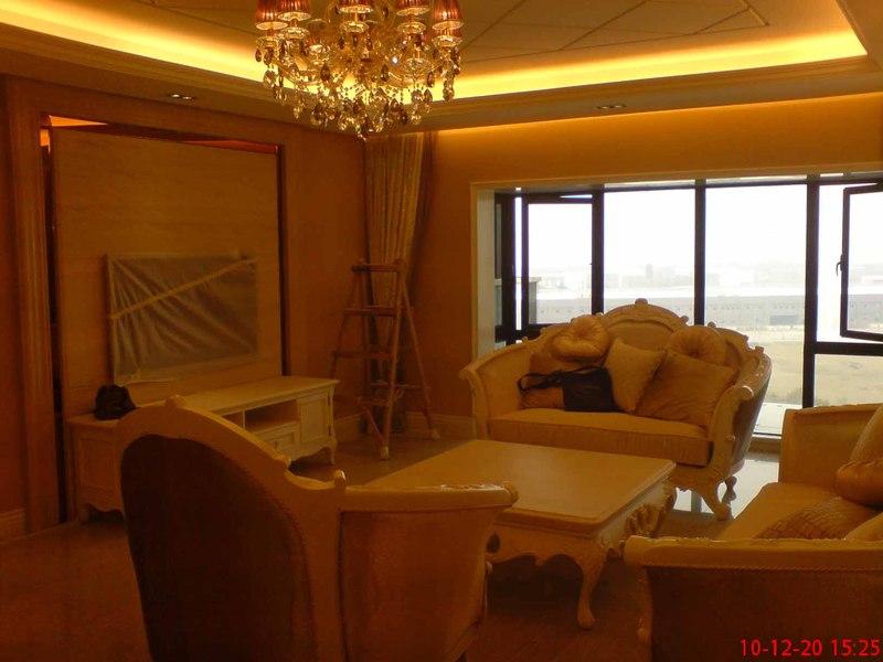 电视背景墙 大梅沙低调奢华欧式风格装修日记pp 高清图片