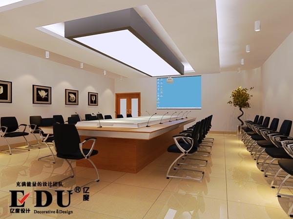 会议室木地板装修效果图