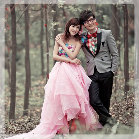 将传统的婚纱人像摄影和时尚摄影相结合