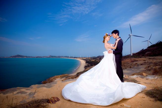 (婚礼教堂,地中海,渔人码头,苏州园林,仙山瀑布,花海,游艇,桃花岛