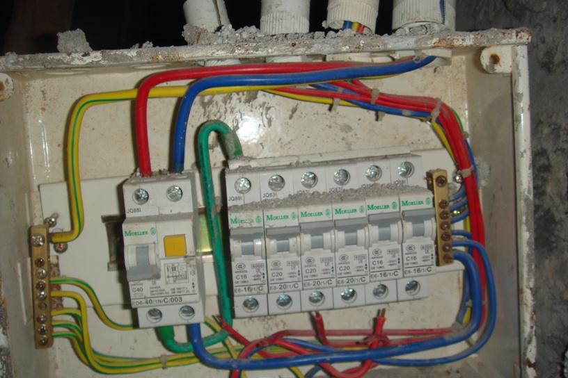 漏电保护器接线图两组