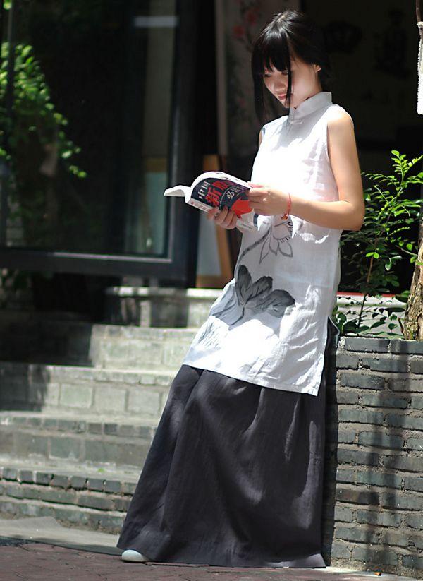 > 原创例外款棉麻,香云纱旗袍,手绘连衣裙,注册品牌(阔别一年咯)