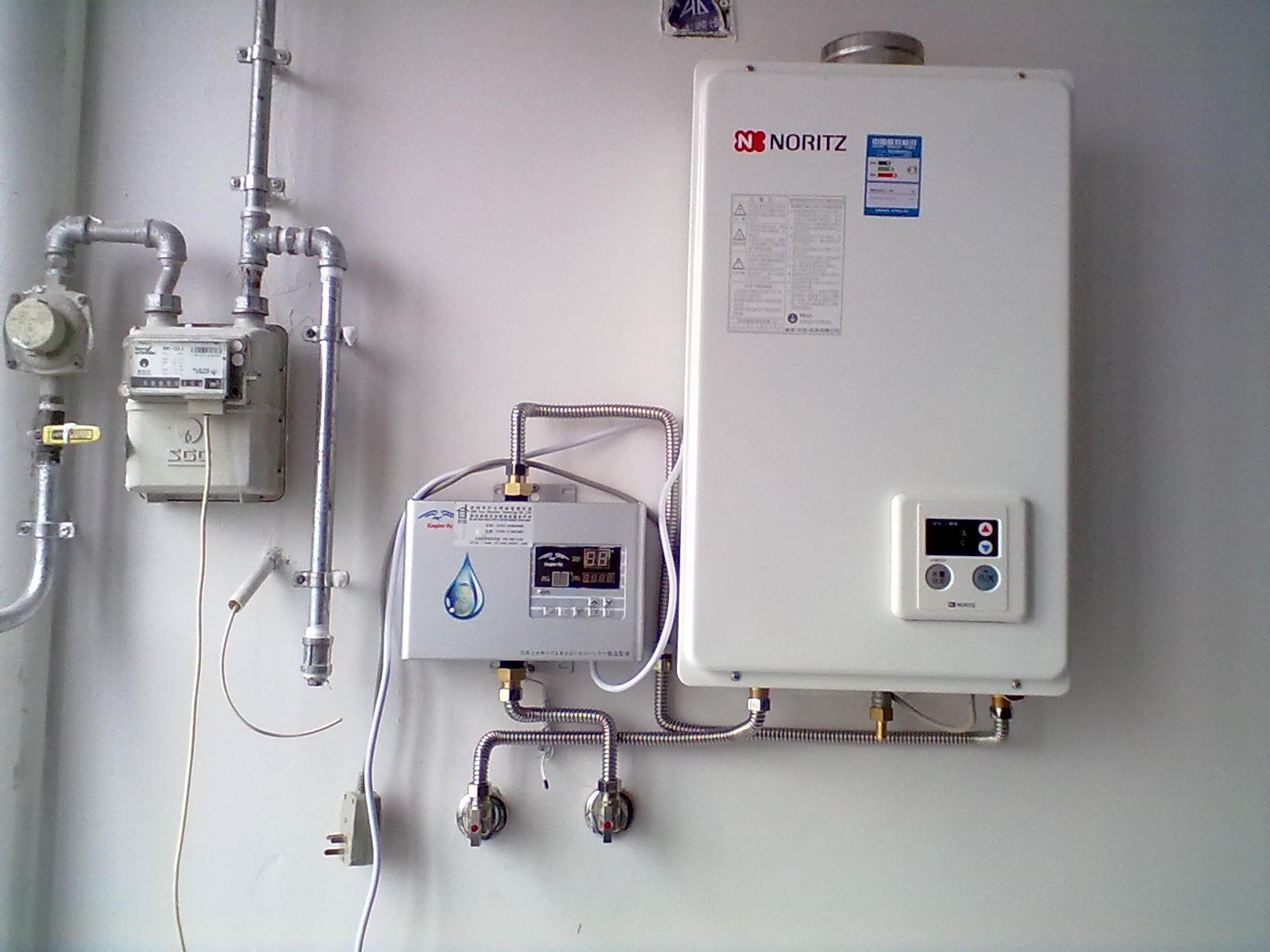 家用燃气热水器配套家用鹰游回水装置特价出售 高清图片