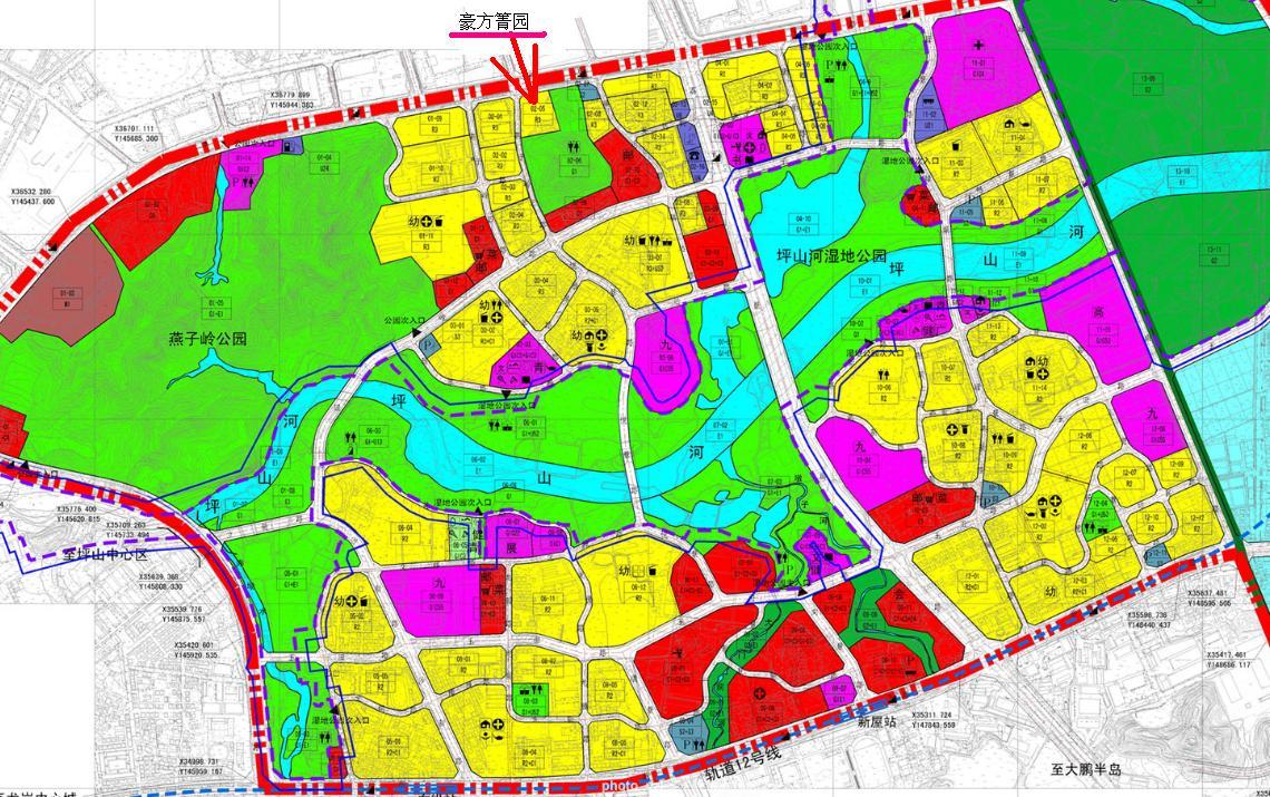 大源规划图 天府新区大源组团公布城市规划