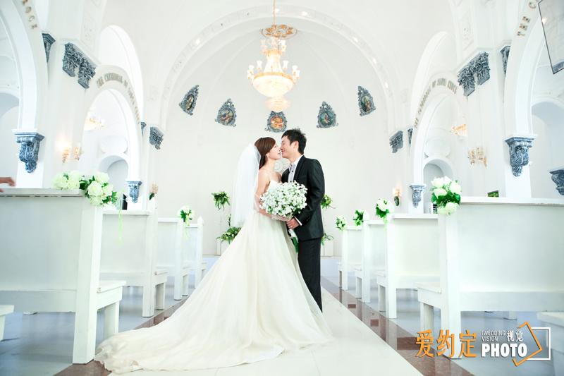 婚纱照爱约定视觉