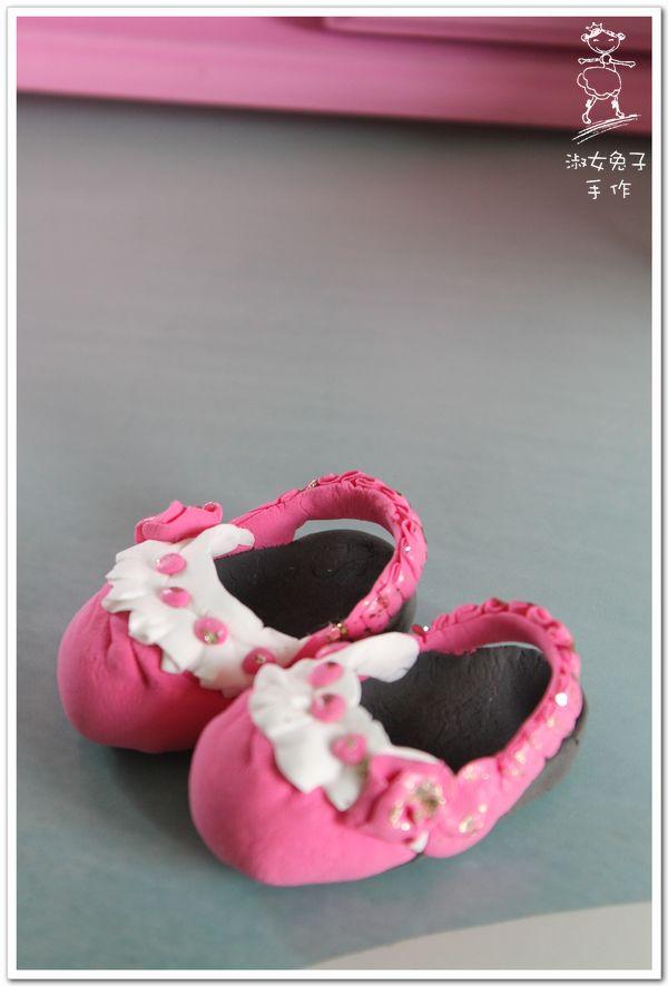 粘土作品大全图片步骤鞋