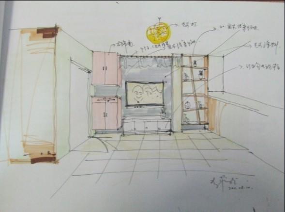 ui设计师手绘教程展示