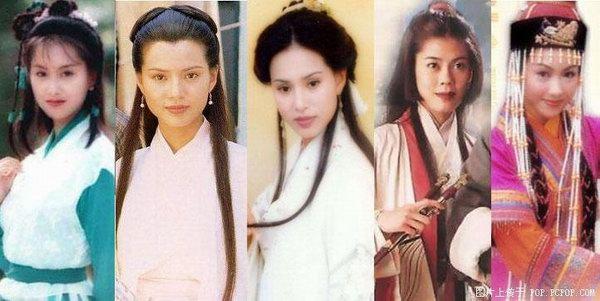 女主22p多人操_金庸小说里的女主角哪一个最美,你最喜欢的?