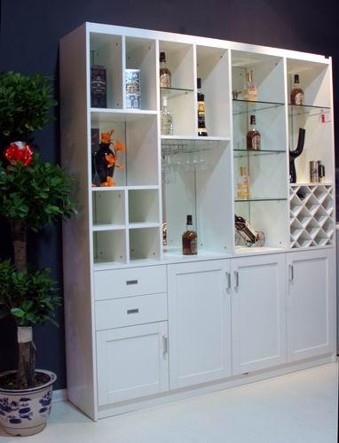 厨房隔断推拉门酒柜图片 厨房酒柜隔断造型图,厨房与餐厅隔