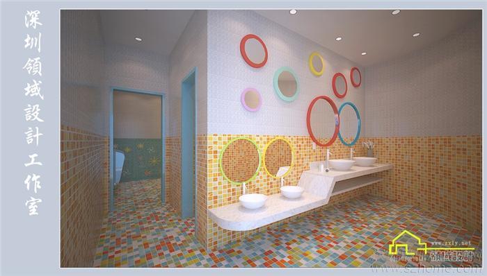 儿童欧式洗手间效果图