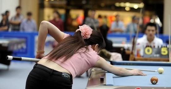 为什么现在打桌球的都是气质美女?