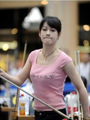 为什么现在打桌球的都是气质美女? 竖