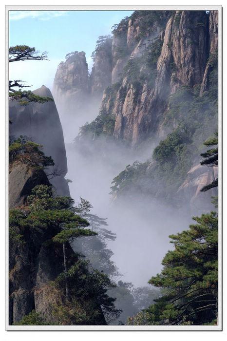 """三清山风景名胜区内资源丰富,景点众多,景观""""东险,西奇,北秀,南绝"""""""