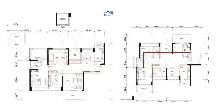 长29米宽10米双拼房屋设计图片