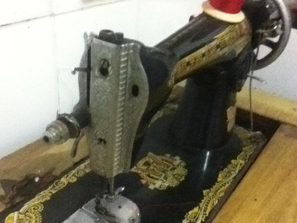 转让:蝴蝶牌老式缝纫机