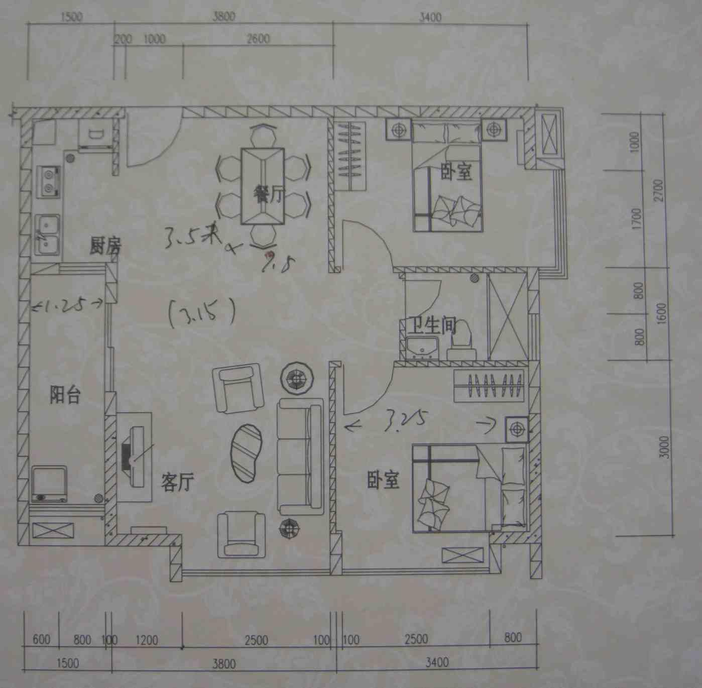 八米宽十米长房屋设计图展示