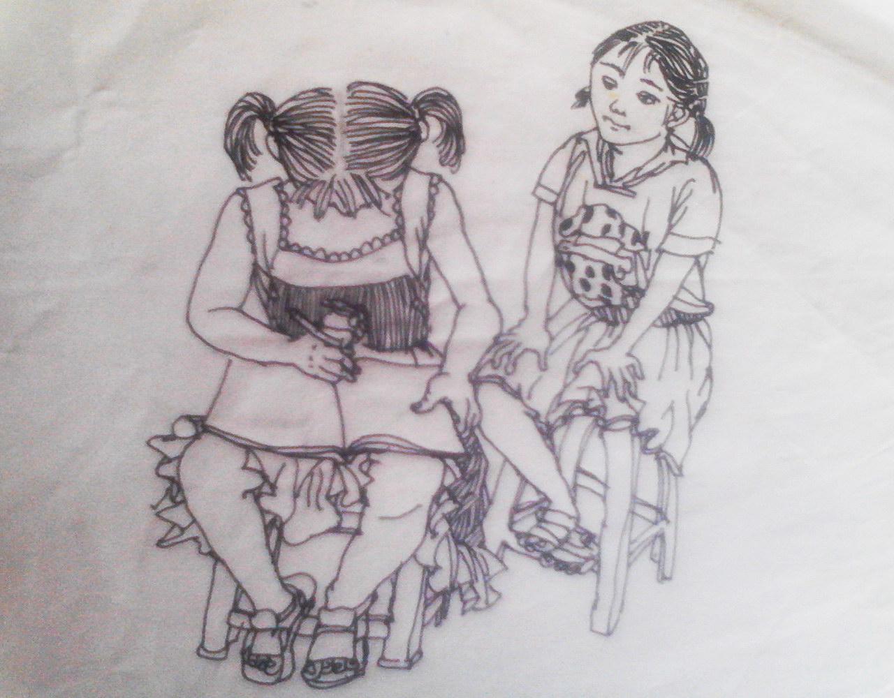 简笔画 手绘 素描