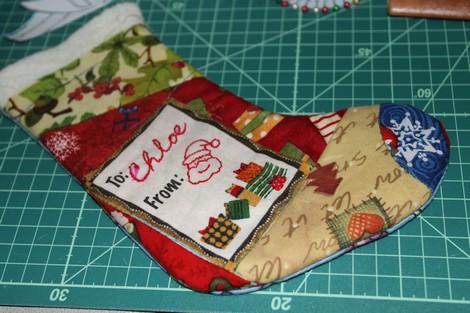 > 可爱的圣诞袜