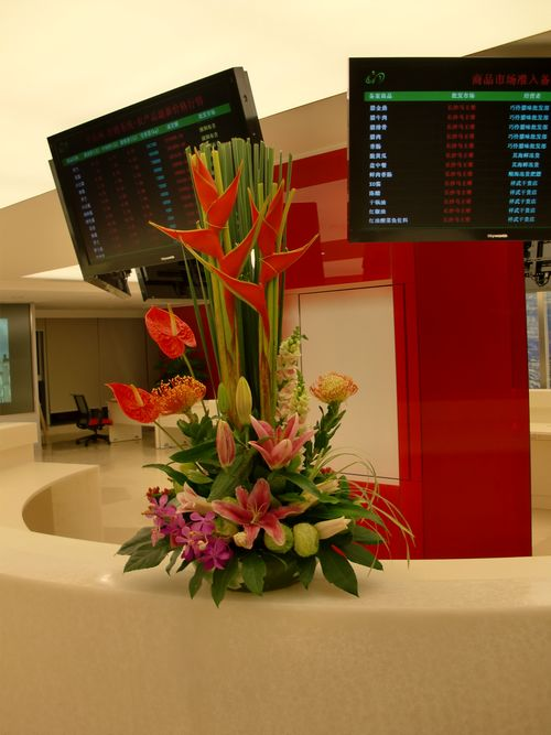 鲜花玫瑰百合花束花篮 打个电话 就给你送去 好美哦