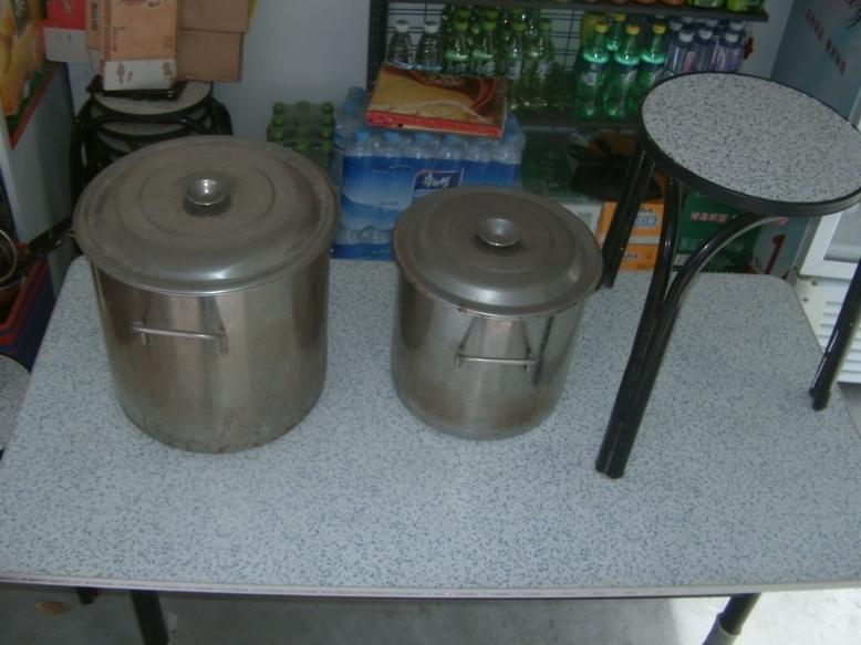 厚底白钢桶大直径35小