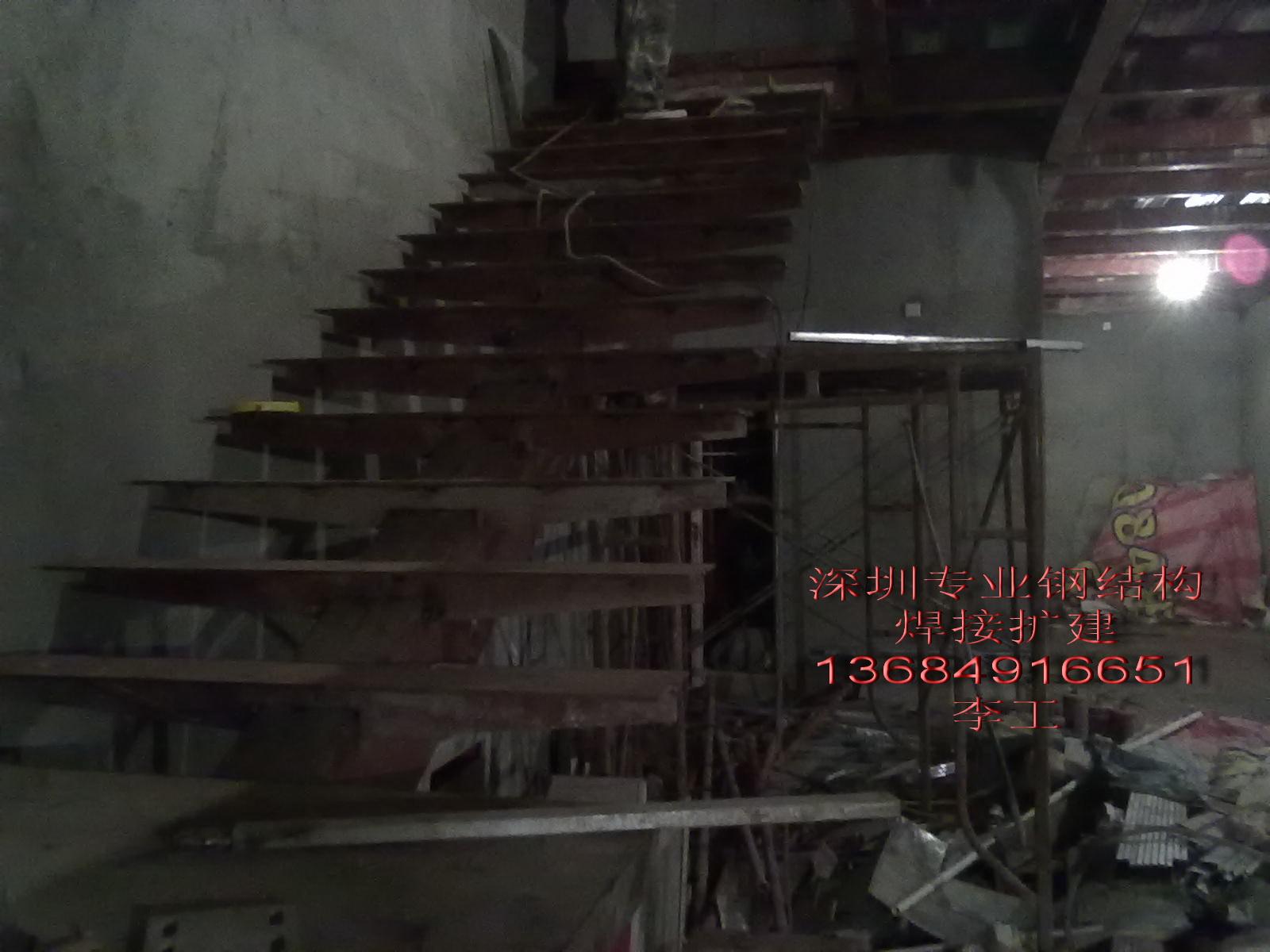 刚刚完工上传钢结构阁楼焊接施工照片