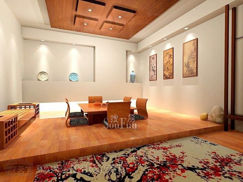 时代晶科名苑 四居室 180平米 客厅装修效果图