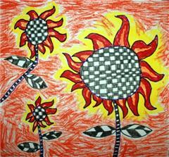 太阳公公的简笔画_简笔画玫瑰花的画法