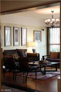 家具线条也是很简约的现代中式